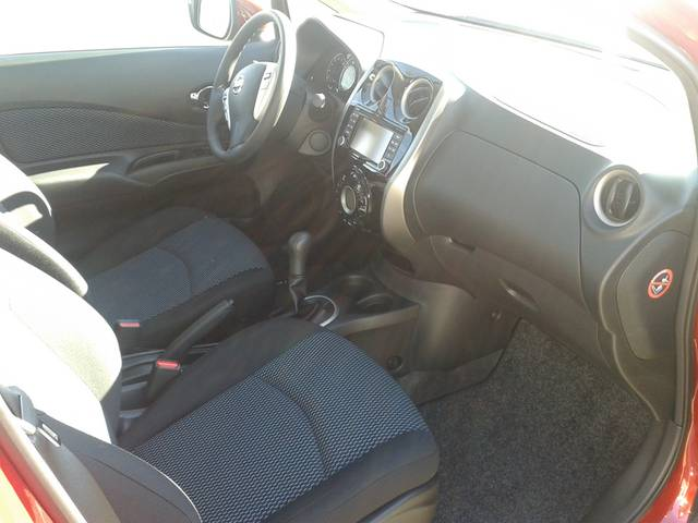 Nissan Note VFW Innenraum