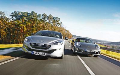 Peugeot hängt Porsche ab
